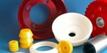 Hot cast polyurethane elastomers