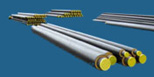 Preinsulated bonded pipes